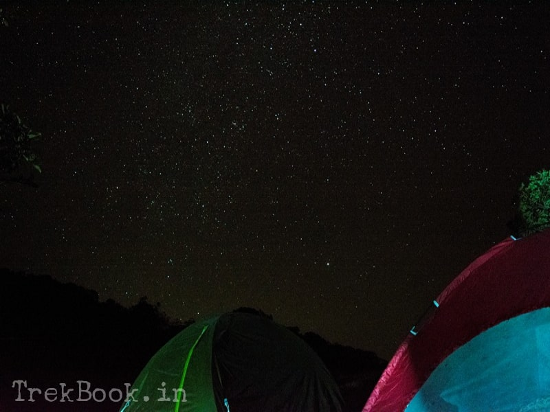 camping in million star hotel