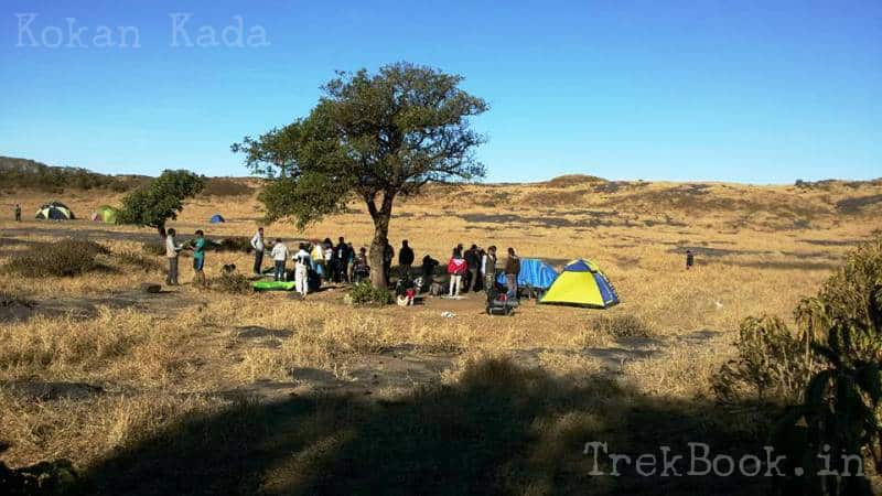 tent camping locations near pune and mumbai