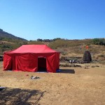 tents available at harishchandragad