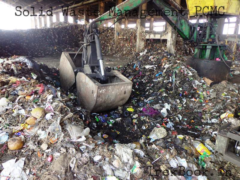 dried waste process start