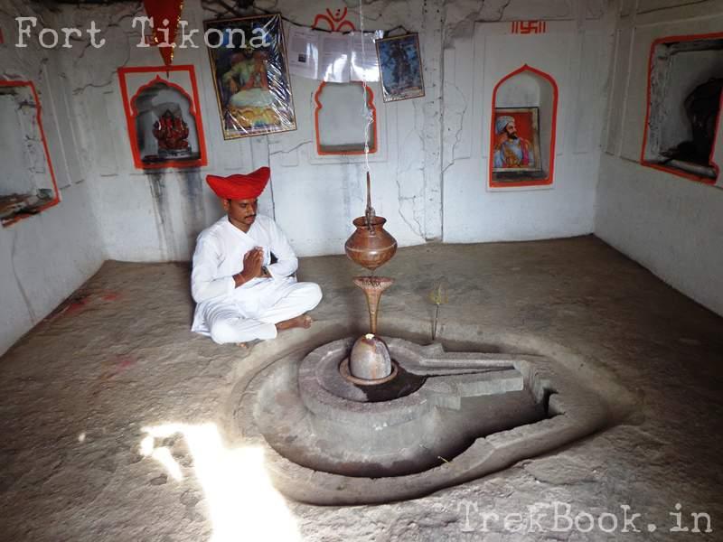 madadev temple at fort tikona
