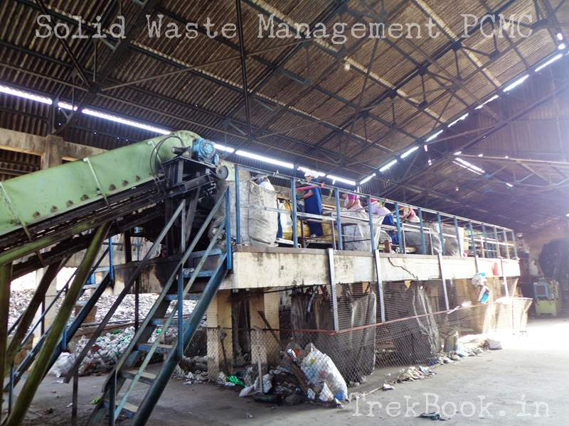 manual sorting of solid waste