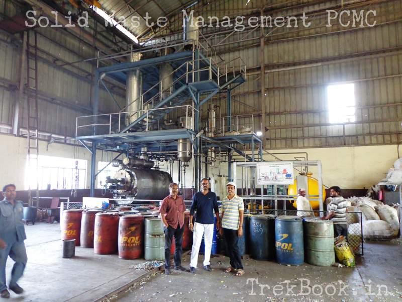 plastic waste treatment reactor pcmc