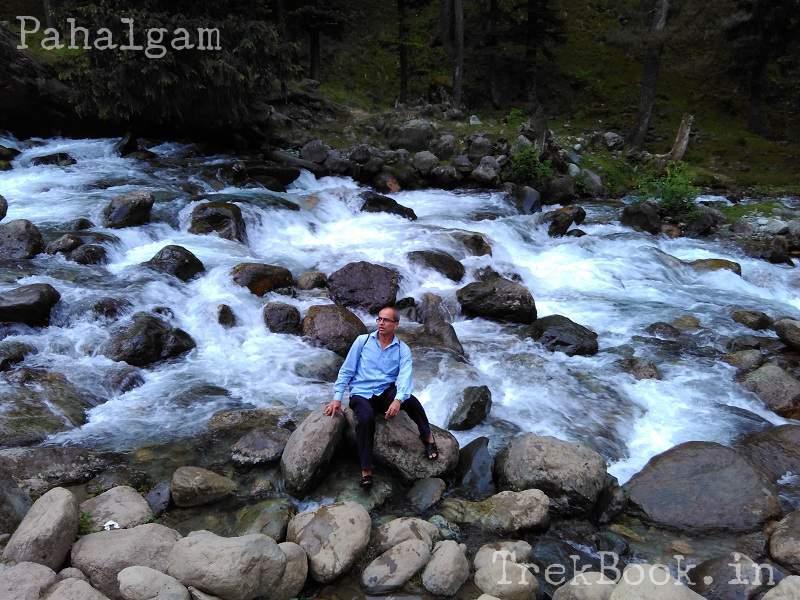 Pahalgam-waterfall