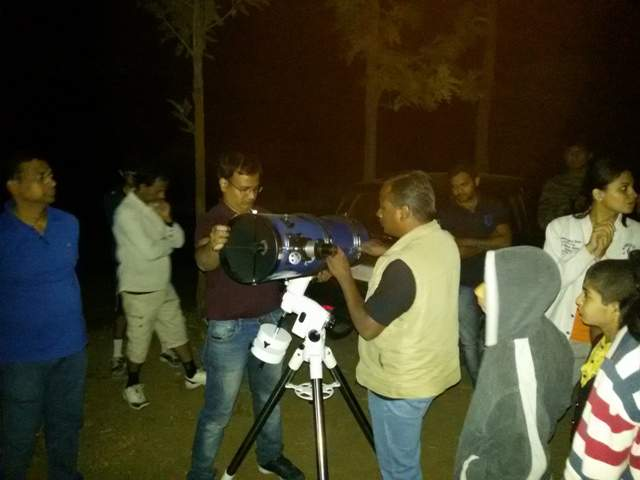 mayuresh prabhune star gazing program