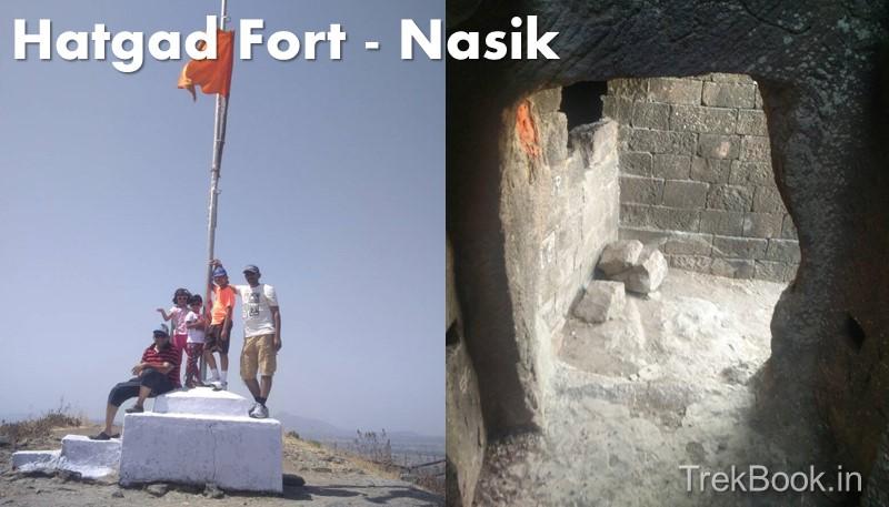 Hatgad Fort Saputara Nasik remains on fort