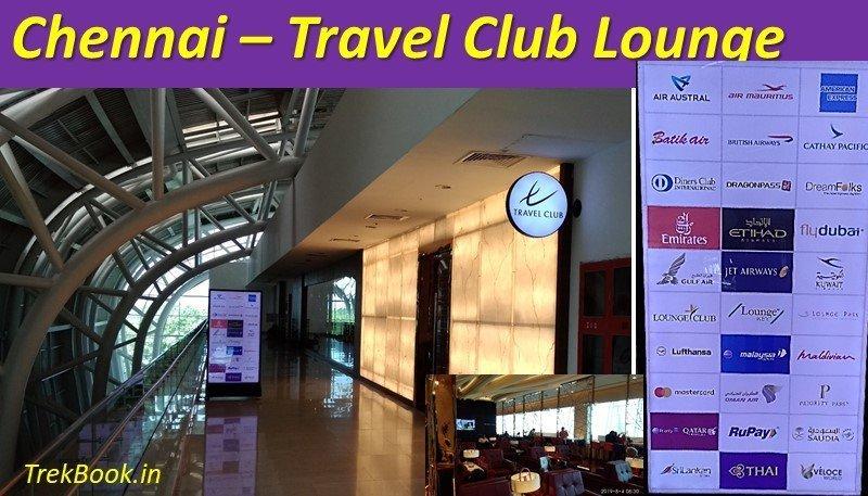 chennai international airport travel club lounge free card list
