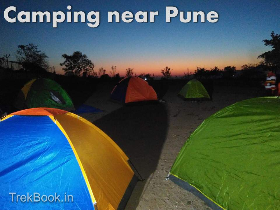 night tent camping near pune