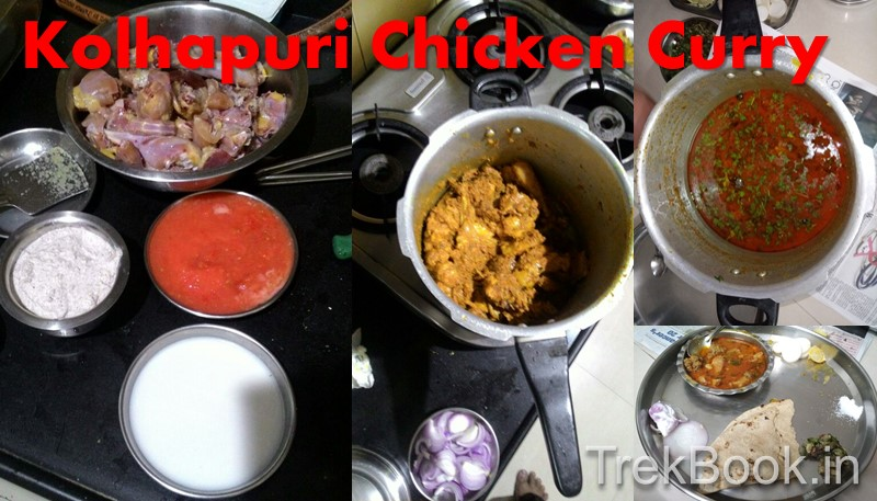 mothers authentic traditional Kolhapuri chicken recipe in Marathi
