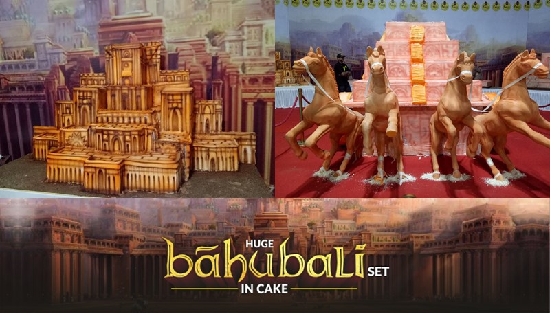 international cake festival bahubali cake