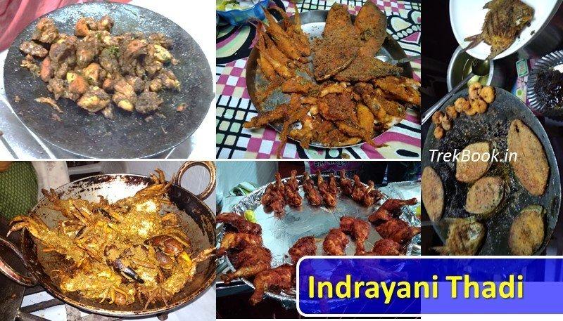 Indrayani Thadi Fish Mutton Chicken non veg yummy food festival