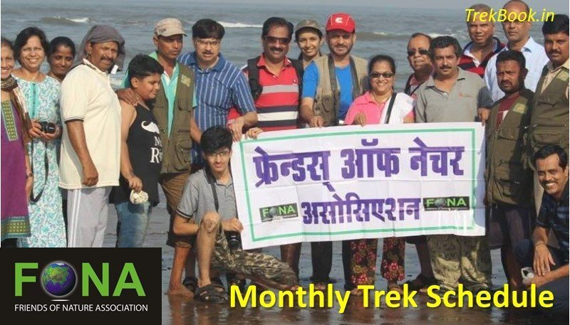 Friends of nature association FONA monthly trek schedule